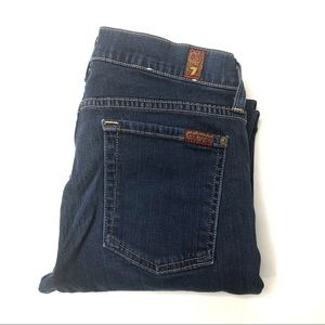 7FAM Low Rise Stretch The Skinny Jeans